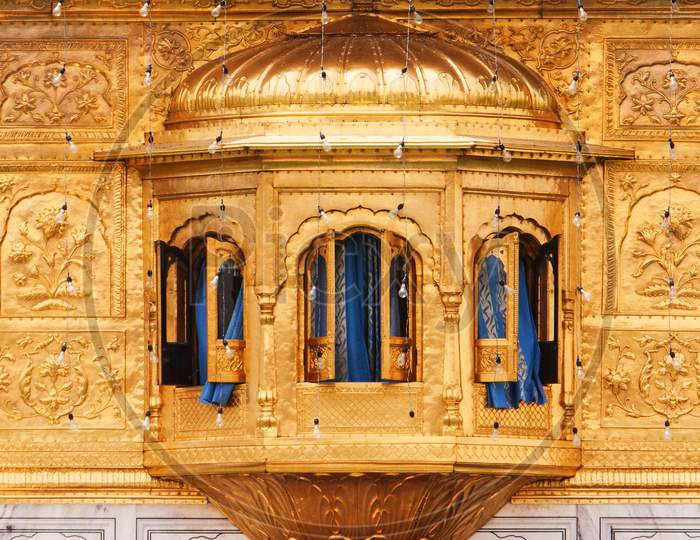 Window from eastern side of the Golden Temple