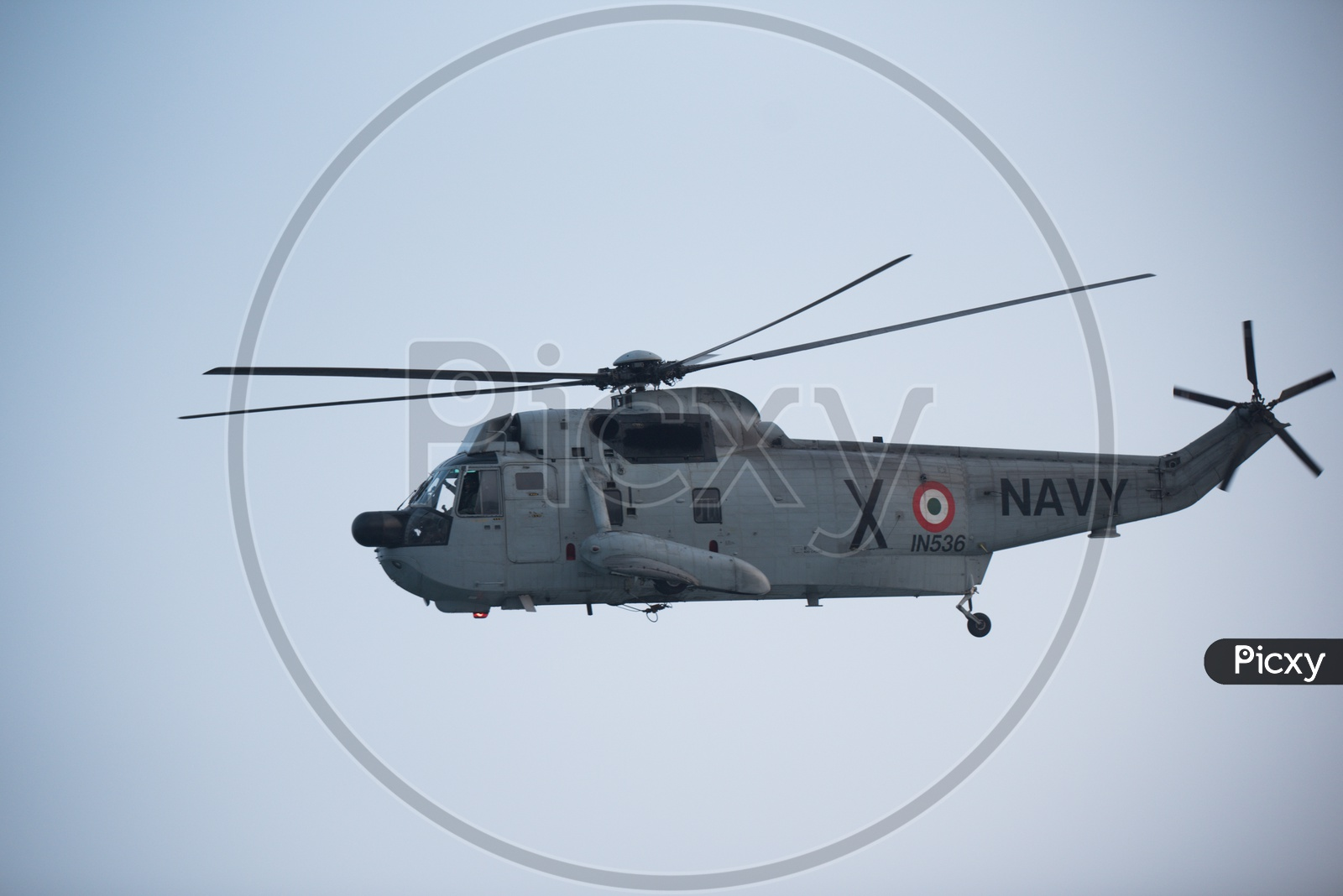 Indian Navy Helicopter