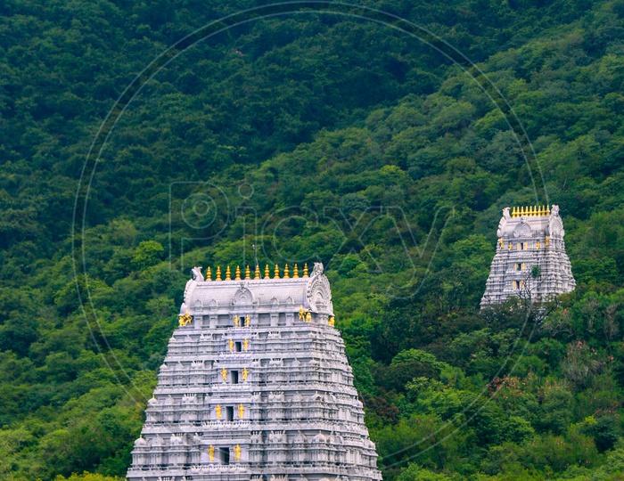 Gopuram on the way to Tirumala walkway