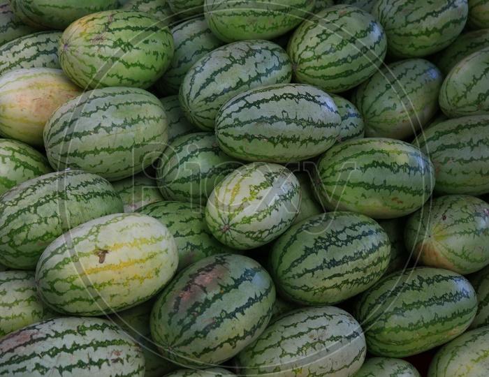 Watermelons  Closeup Shot