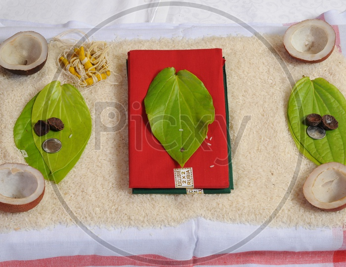 South Indian Prayer Items for Wedding
