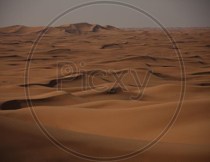 Sand Dunes of Dubai