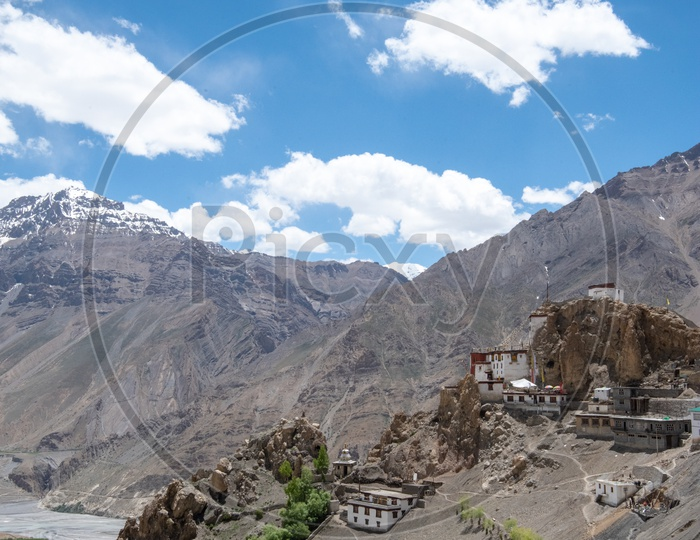 House Constructed On the Valleys of Leh