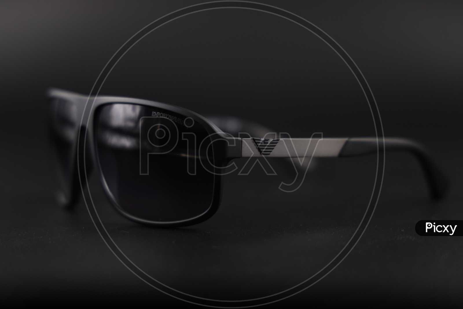 Emporio  Armani  Sunglasses  or Goggles  On an Isolated Background