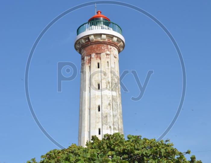 Pondicherry old light house