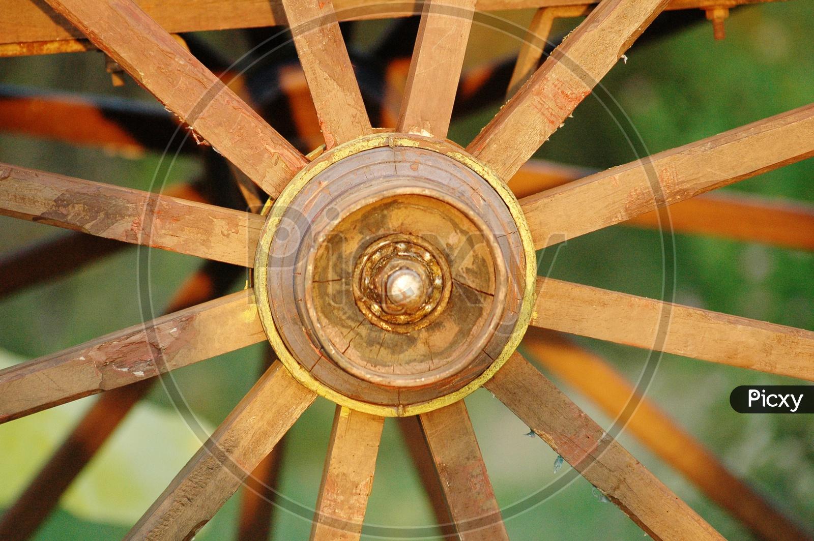 Bullock Cart Wheel
