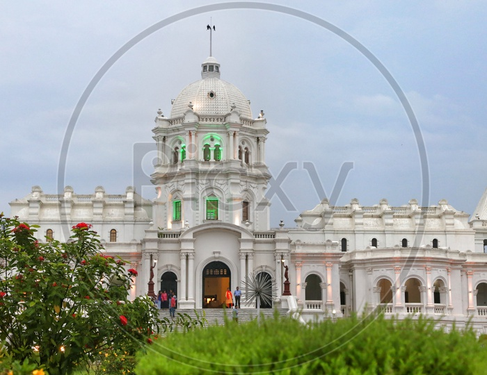 A View  Of Ujjayanta Palace or Tripura Government Museum