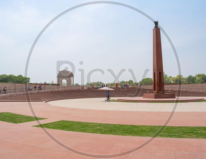 Rashtriya Samar Smarak ( National War Memorial), India Gate, Delhi