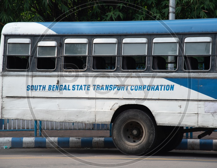 South Bengal State Transport Corporation  ( SBSTC ) Busses On the Roads Of Kolkata