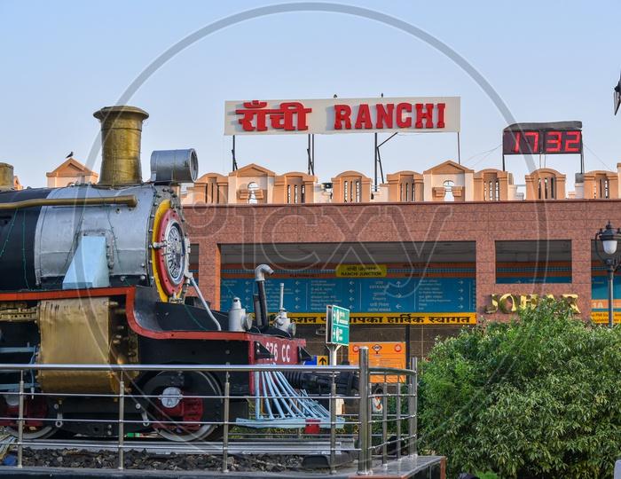 Ranchi Railway Station  Main Building