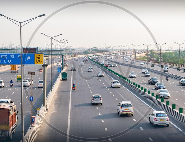 Delhi-Meerut Expressway, National Highway(NH)-9, Asian Highway(AH)-2
