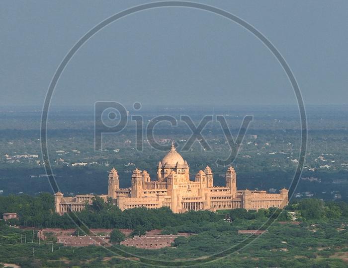 the  UMAID BHAVAN PALACE