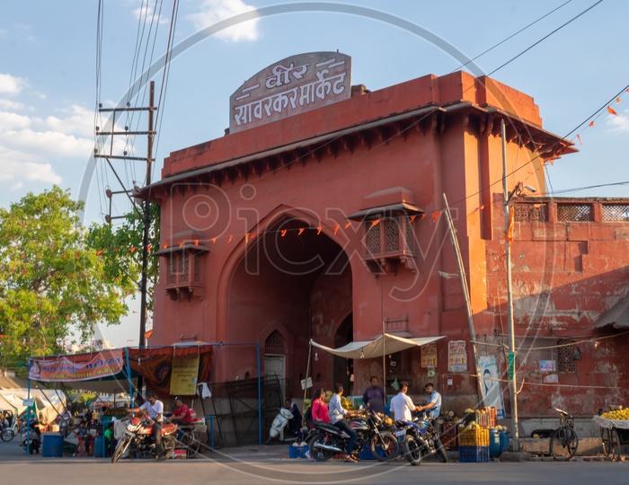 Veer Sawarkar Market entrance