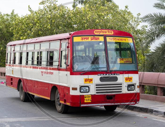Uttar Pradesh State Road Transportation Corporation (UPSRTC) Bus
