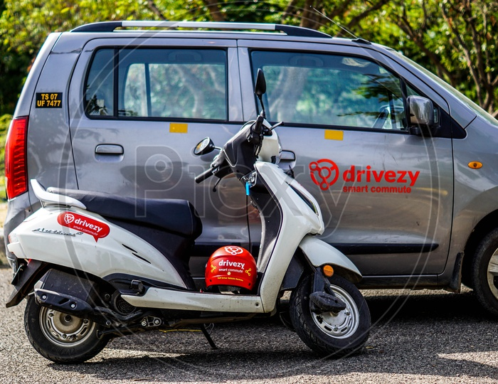 Drivezy Rental bikes and cars