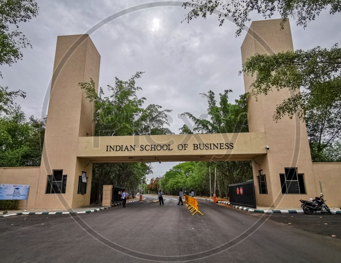 ISB (Indian School of Business) Entrance/Main Gate