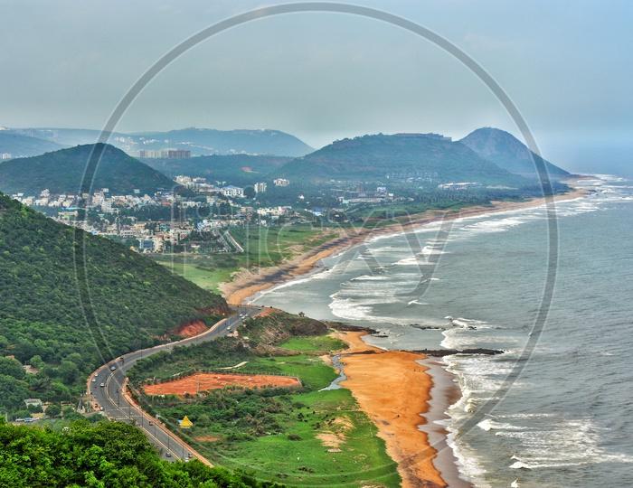 Visakhapatnam Beach Road