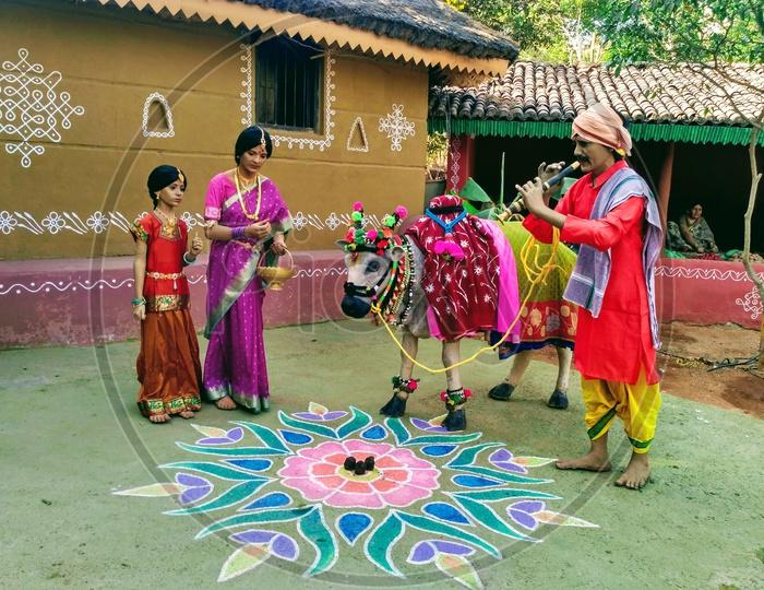 Sankranthi Celebrations In Shilparamam