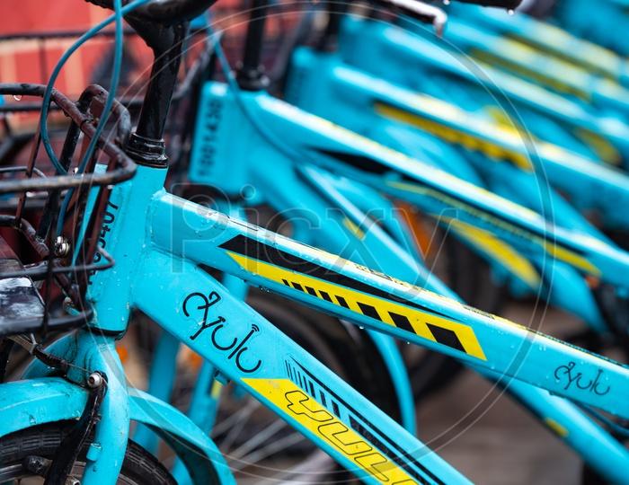 Yulu rental Bicycles,Bikes