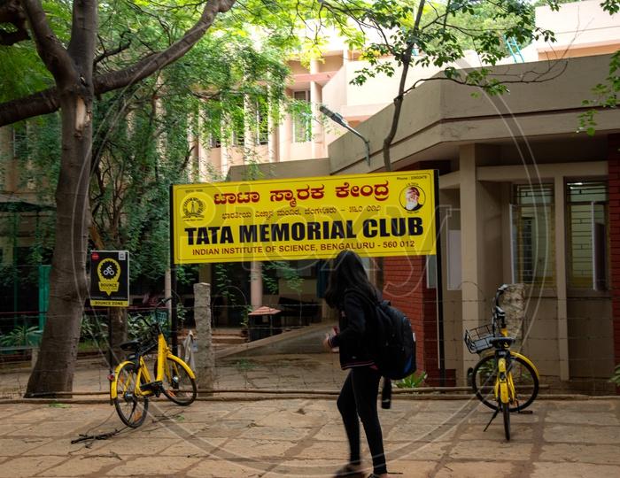 Tata Memorial Club,IISC Bangalore
