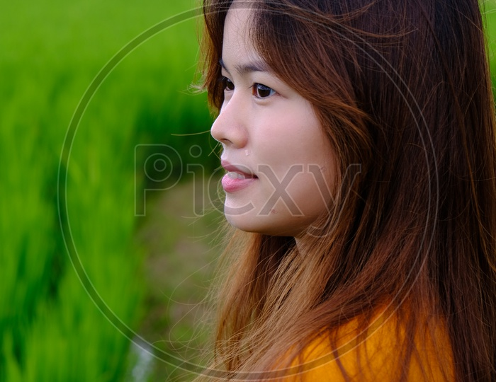 Portrait of Young Taiwanese Girl