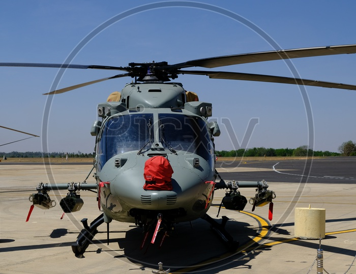 HAL Rudra is the Armed Version of ALH Dhruv at Bangalore Aero India 2019