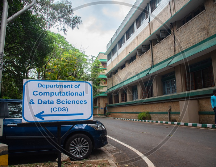 Department of Computational and Data Sciences CDS , IISC Bangalore