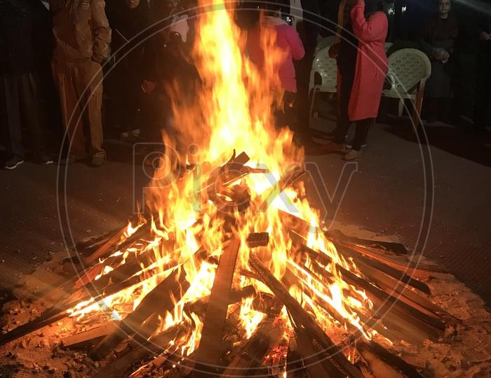 Lohri Celebration- Born Fire