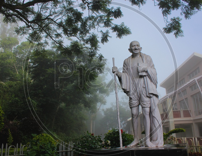 Mahatma Gandhi Father of the Nation.