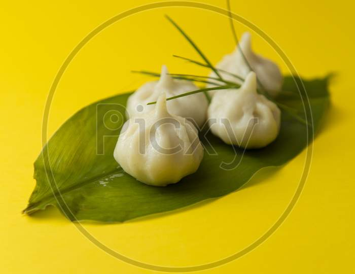 Modak, an Indian sweet made during Ganeshotsav for lord Ganesha