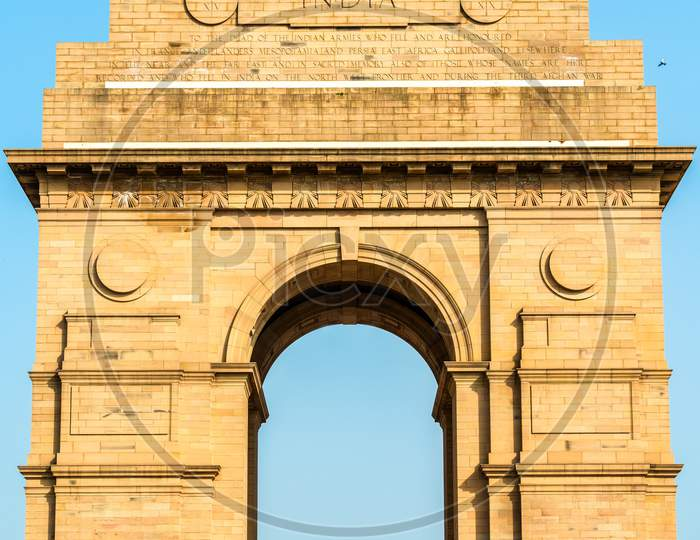 The India Gate, A War Memorial In New Delhi, India