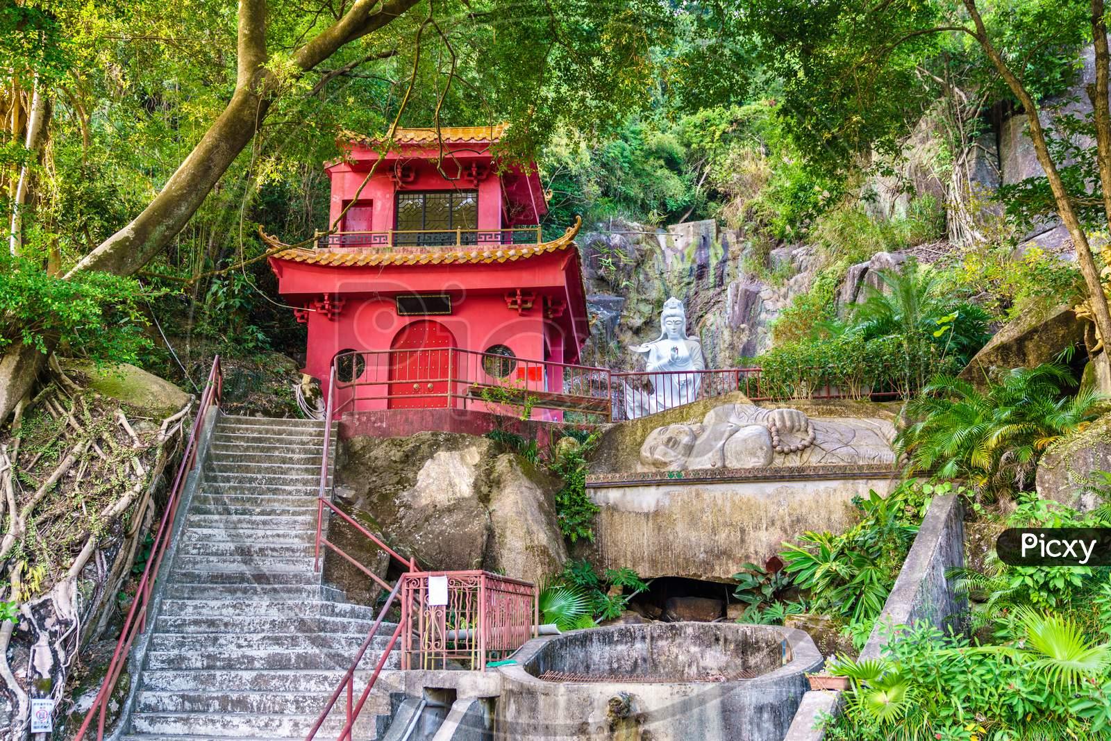 The Ten Thousand Buddhas Monastery In Hong Kong