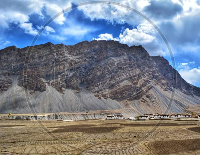 A village in Spiti Valley, Himachal Pradesh