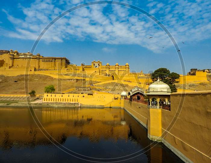 Amer Fort or Amber Fort is a fort located in Amer, Rajasthan, India.
