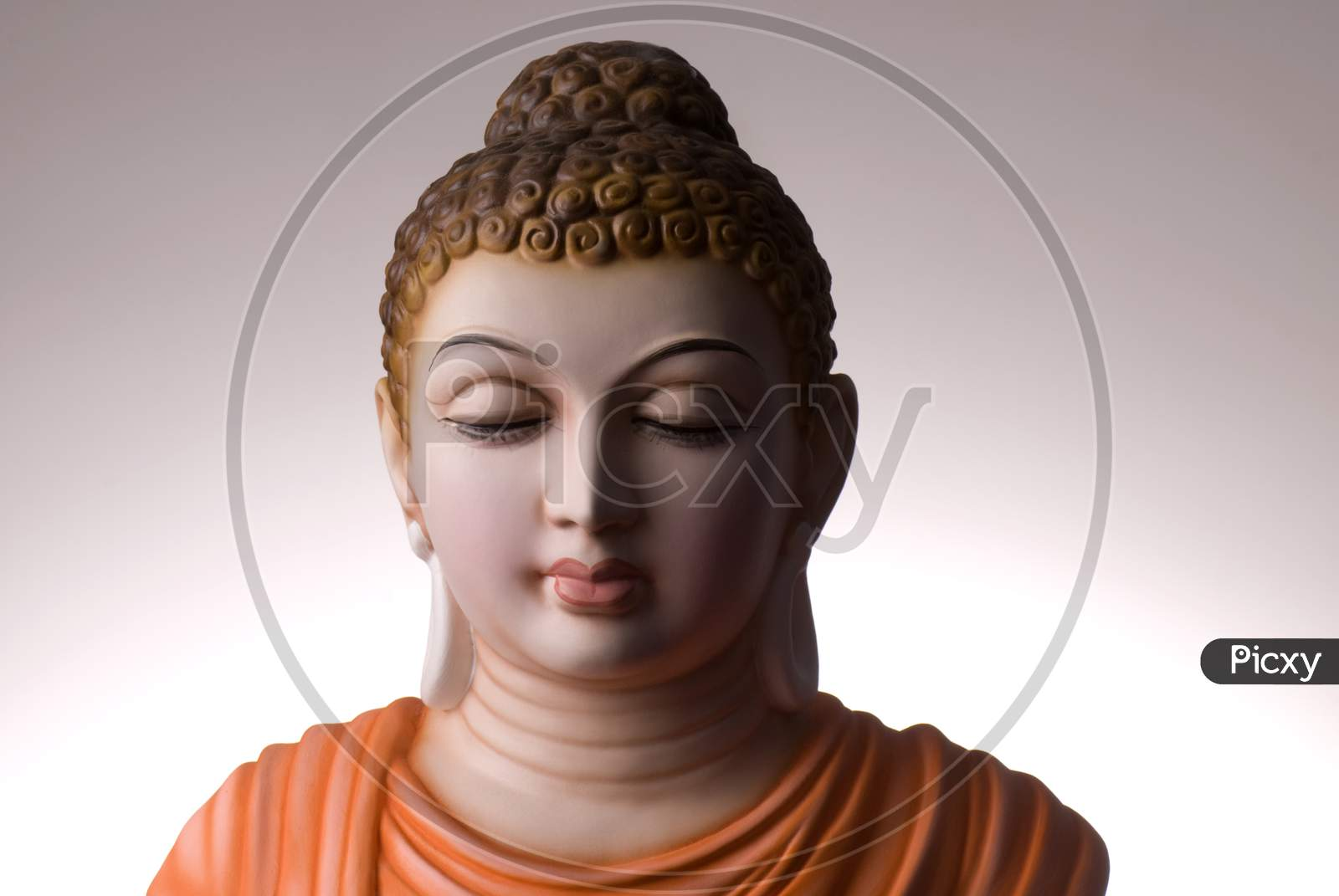 Lord Buddha Statue In Pop Material