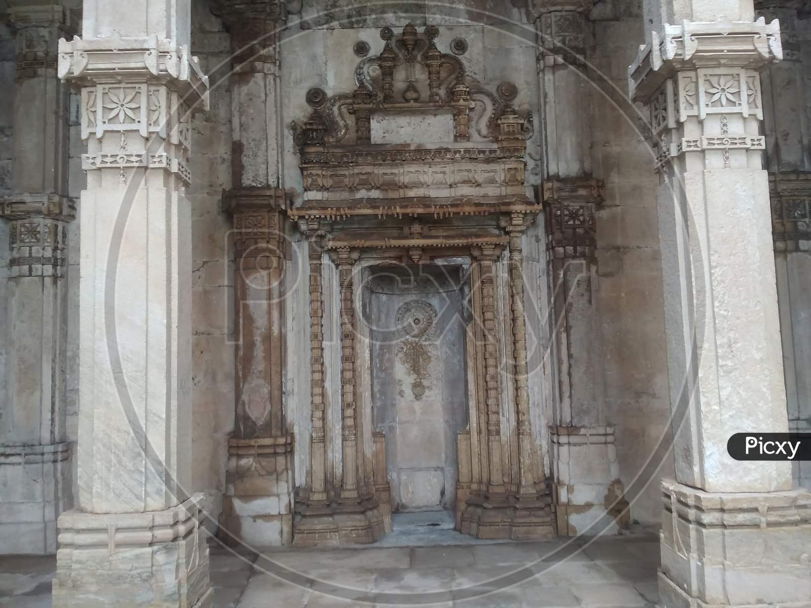 Old palace and ruins