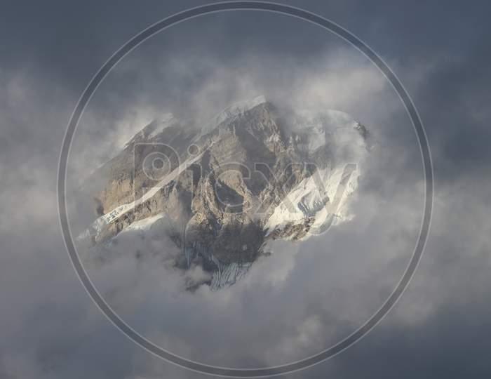 Glacier Behind Kedarnath