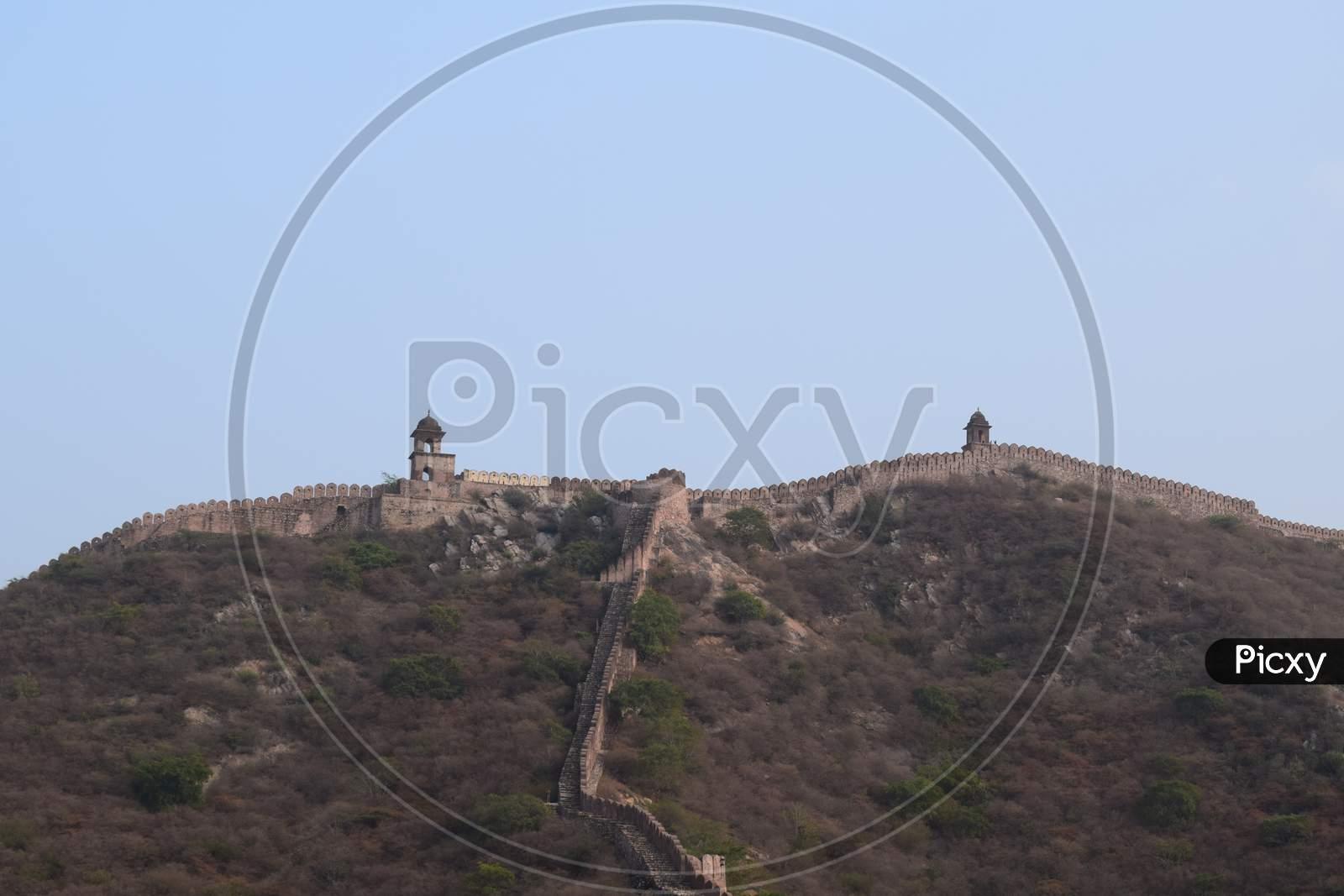 Amer Fort Jaipur Rajasthan, India.