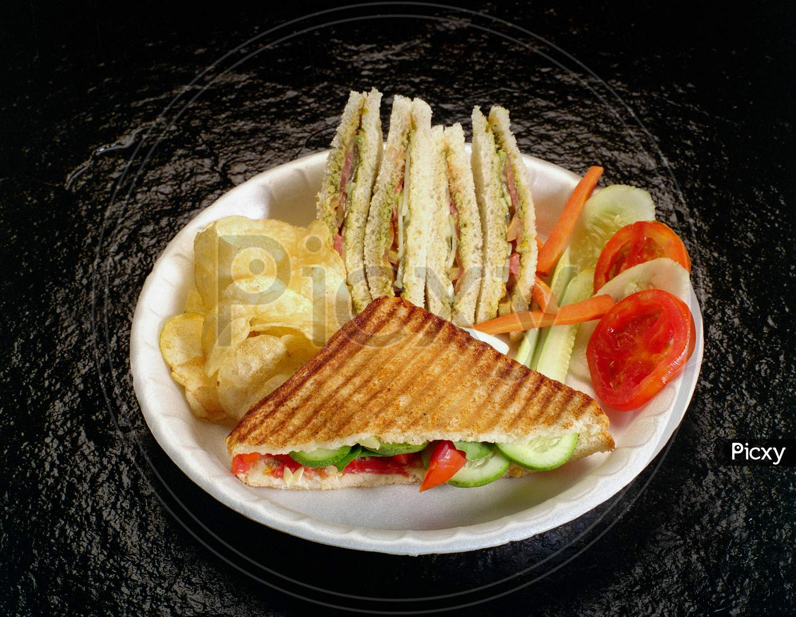 Grilled & Vegetable Sandwiches