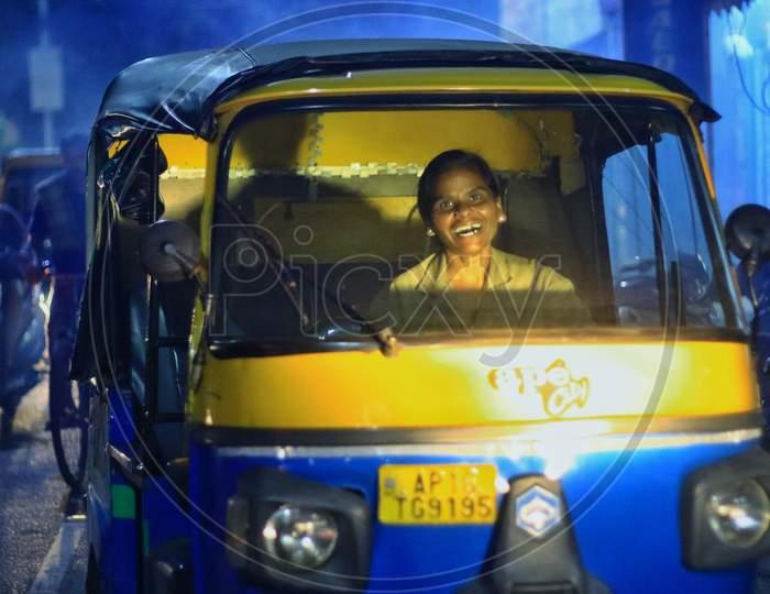 Female auto driver