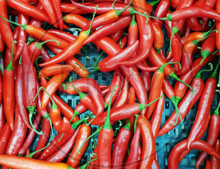 Red Hot Chili Peppers, Closeup View And For Sale In Market