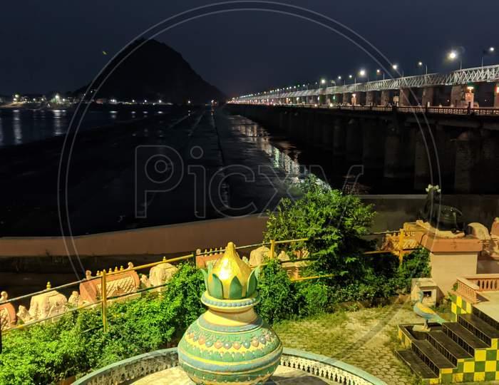 Vijayawada prakasham barrage 20 November 2020