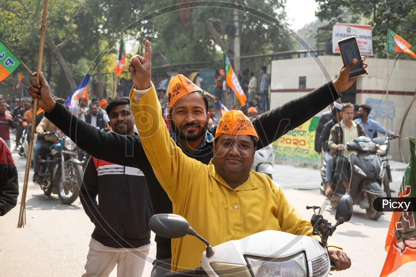 Bharatiya Janata Party campaign for Delhi Assembly Election 2020