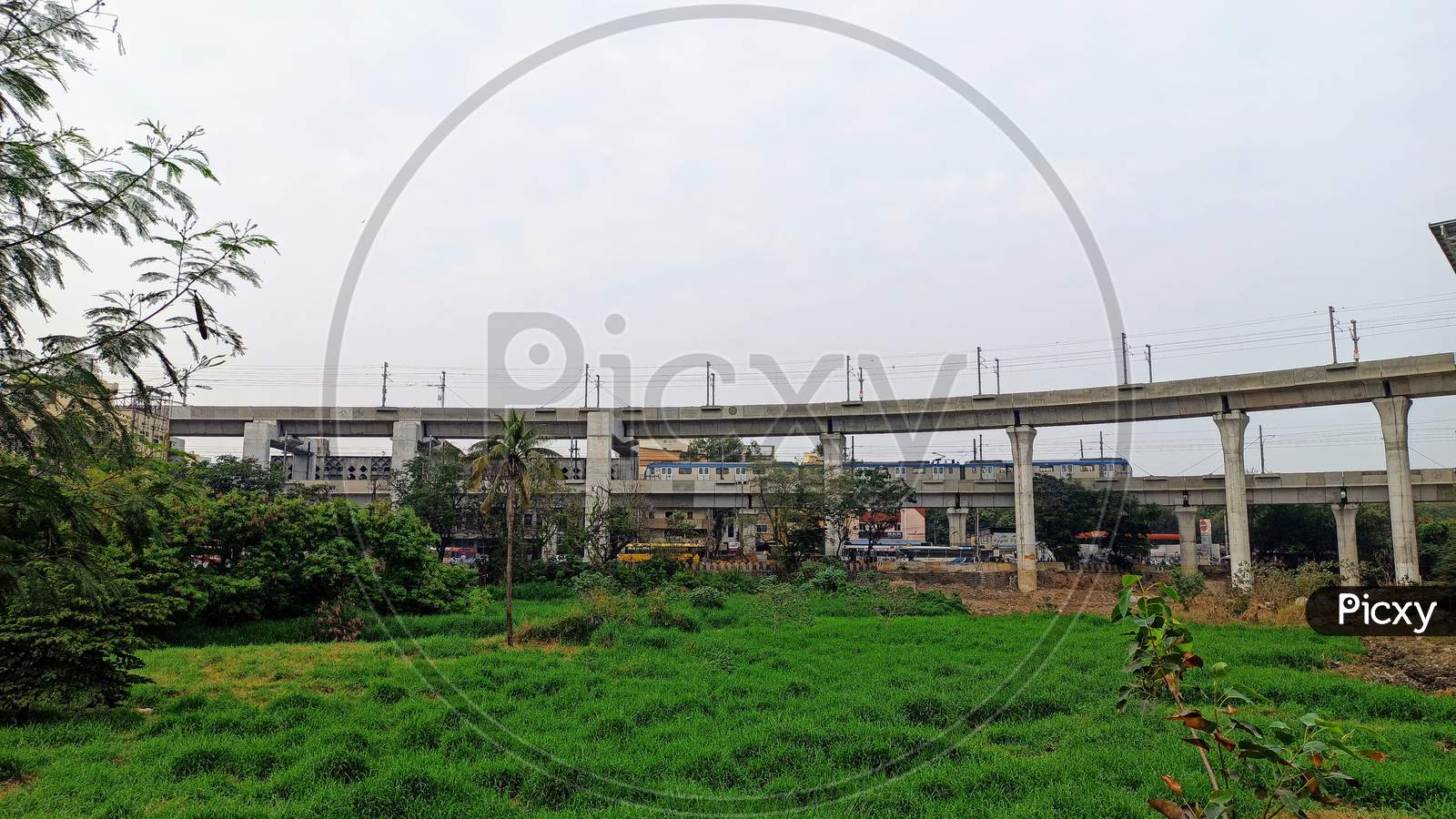 Hyderabad Metro Rail at MGBS