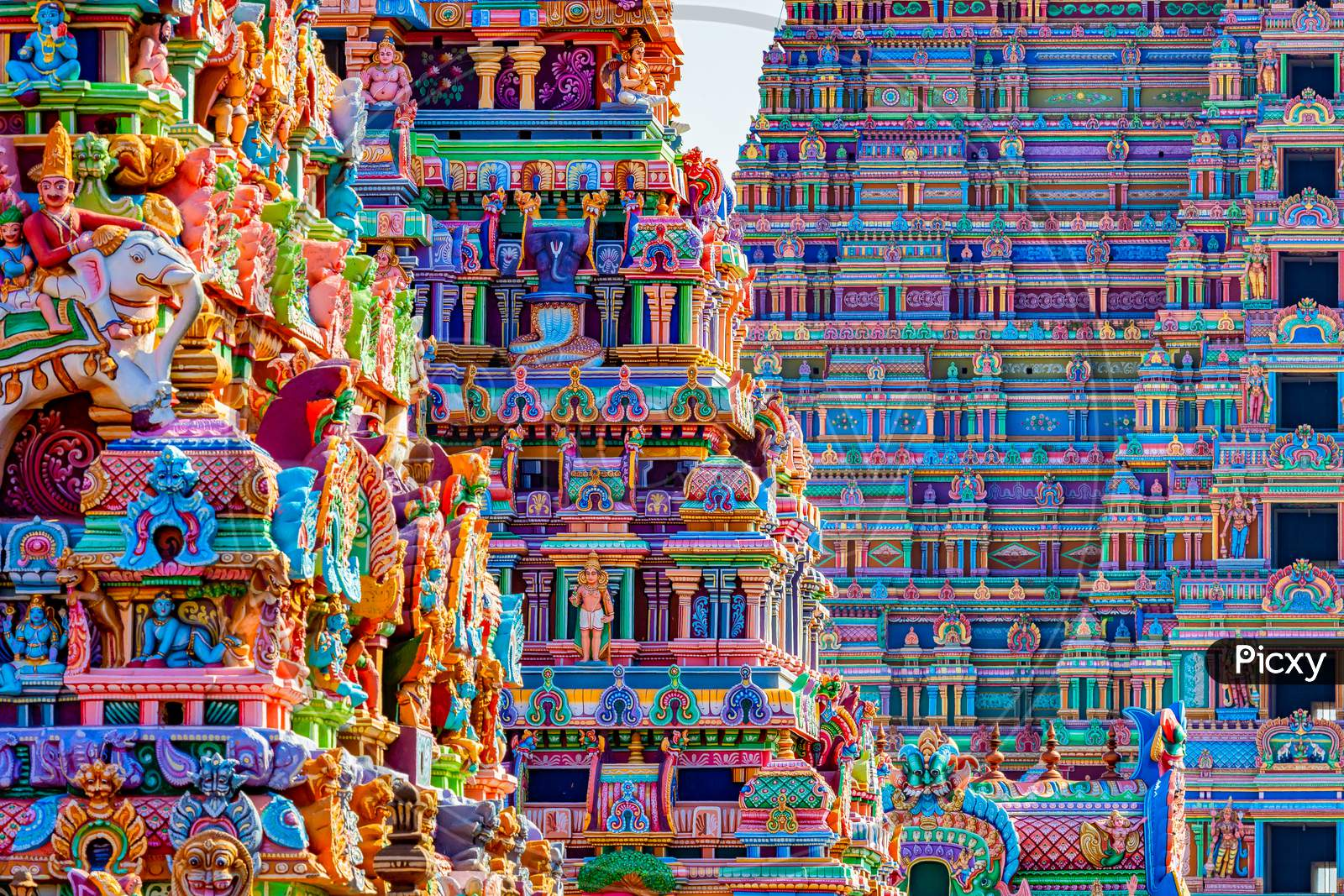 Sri Ranganatha Swamy Temple Shrine in Srirangam