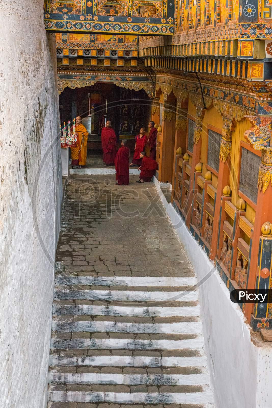 Engaged Monks