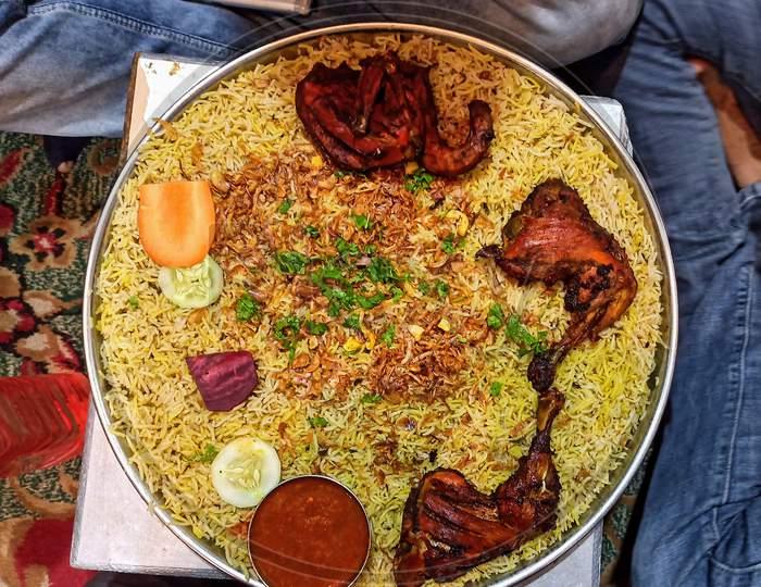 Arebian Mandi or Chicken Mandi