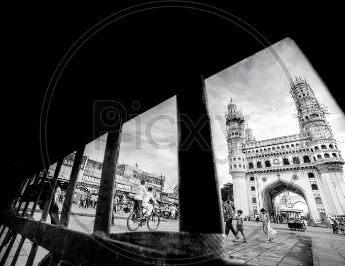 View Of Charminar From Streets Around It