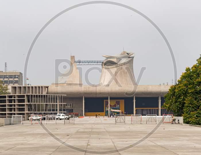 Punjab Vidhan Sabha and Haryana Vidhan Sabha building