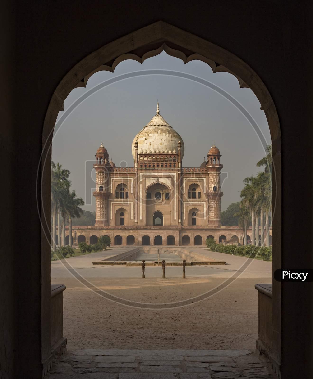 A general view of Safdurjung Tomb in New Delhi.